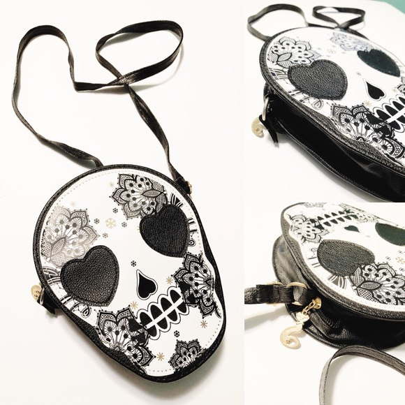 Handbags - Small Sugar Skull Purse